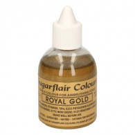 Airbrushfarbe Glitter Royal Gold