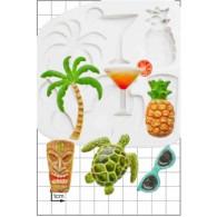 Silikonform Tropical