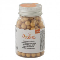 Sugar Pearls large gold 100g