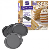 Cake Pan Easy Layers 20cm - Set/4